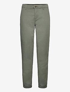 Pants woven - chinos - khaki green