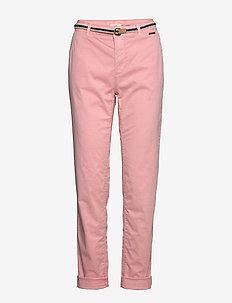 Pants woven - chinos - blush