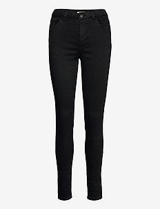 Pants woven - broeken med skinny fit - black