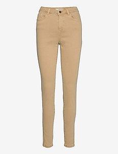 Pants woven - pantalons slim - camel