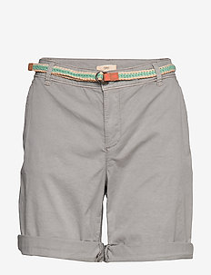 Shorts woven - chino shorts - light grey