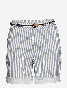Shorts woven - casual szorty - grey blue