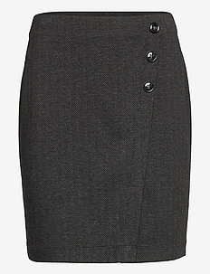 Skirts woven - jupes crayon - anthracite