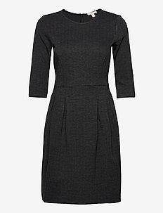 Dresses woven - midi kjoler - anthracite