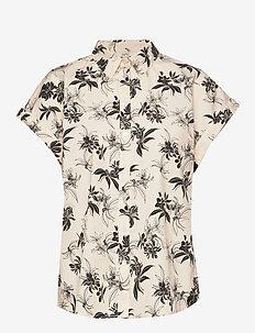Blouses woven - kortermede skjorter - off white