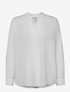 Blouses woven - blouses à manches longues - white
