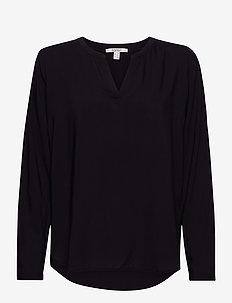 Blouses woven - blouses à manches longues - black