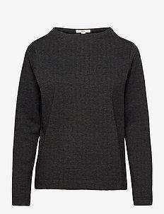Blouses woven - blouses à manches longues - anthracite
