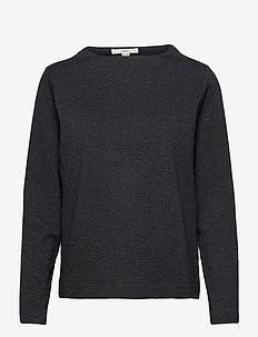 Blouses woven - blouses à manches longues - grey blue