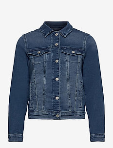 Jackets indoor denim - vestes en jean - blue medium wash