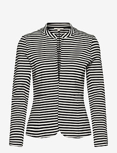 Blazers knitted - casual blazers - navy