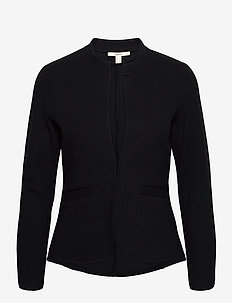 Blazers knitted - gilets - black