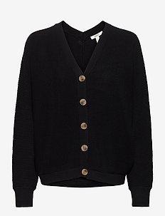 Sweaters cardigan - swetry rozpinane - black