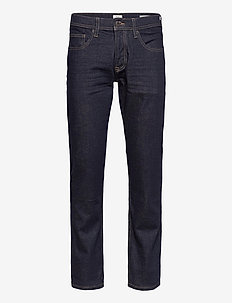 Pants denim - relaxed jeans - blue rinse