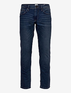Pants denim - regular jeans - blue medium wash