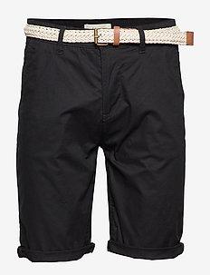 Shorts woven - chinos shorts - black