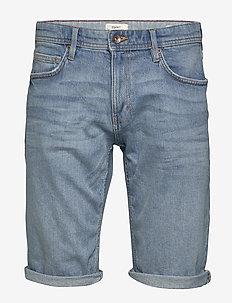 Shorts denim - jeans shorts - blue light wash