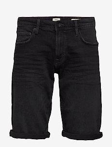 Shorts denim - jeans shorts - black medium wash