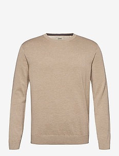 Sweaters - basic-strickmode - beige 5
