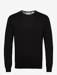 Sweaters - basic gebreide truien - black