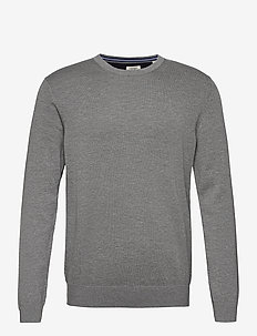 Sweaters - basic knitwear - medium grey 5