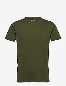 T-Shirts - basic t-shirts - khaki green