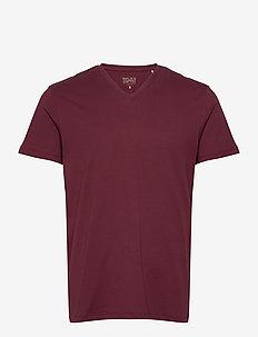 T-Shirts - basic t-shirts - bordeaux red