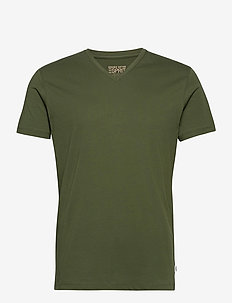 T-Shirts - basic t-shirts - khaki green
