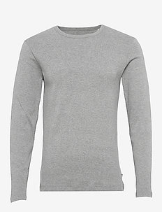 T-Shirts - basis-t-skjorter - medium grey 5