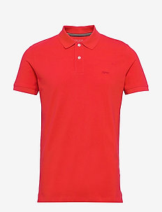 Polo shirts - polos à manches courtes - red