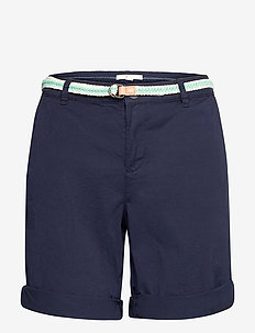 Shorts woven - chino shorts - navy