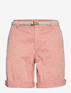 Shorts woven - chino shorts - nude