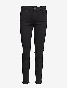 Pants denim - black