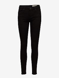 Pants denim - skinny jeans - black