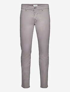 Pants woven - chino's - grey