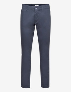 Pants woven - chino's - navy