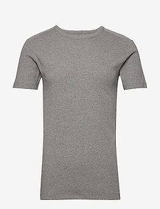 T-Shirts - basis-t-skjorter - medium grey