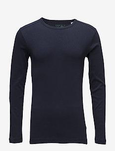 T-Shirts - langærmede t-shirts - navy