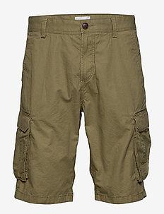 Shorts woven - cargo shorts - olive