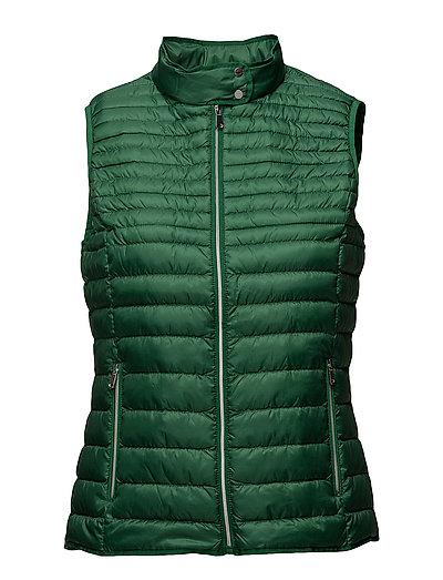 Vests outdoor woven - EMERALD GREEN