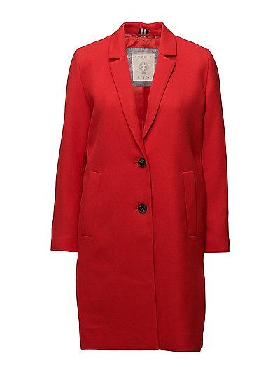 Coats woven - ORANGE RED