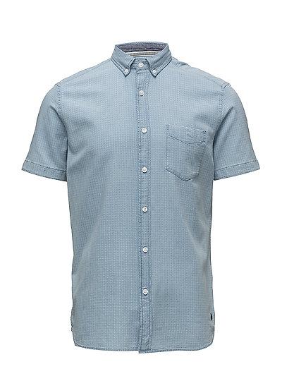 Shirts woven - BLUE LIGHT WASH