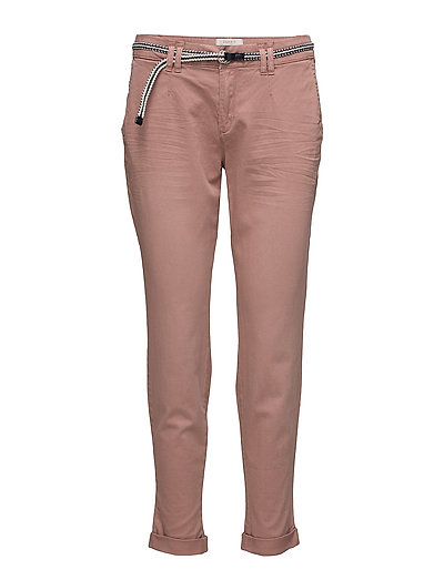 Pants woven - DARK OLD PINK