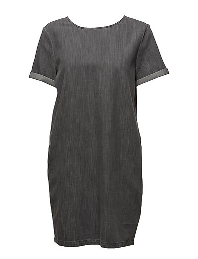 Dresses light woven - GREY
