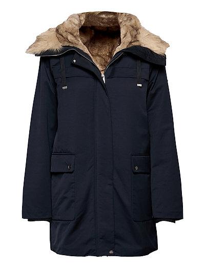 Jackets Outdoor Woven Parka Jacke Mantel Blau ESPRIT CASUAL | ESPRIT SALE