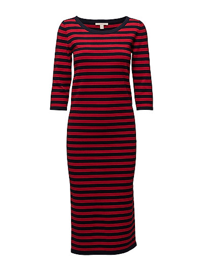 Dresses flat knitted - RED 2