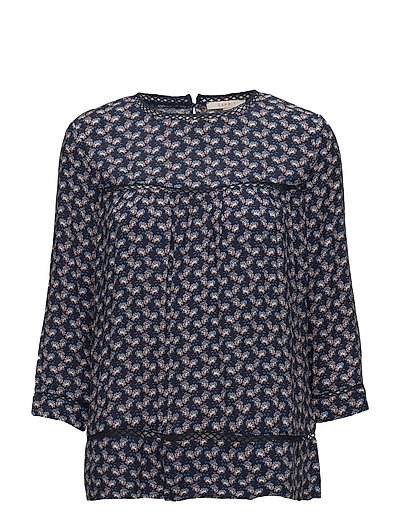 Blouses woven - GREY BLUE