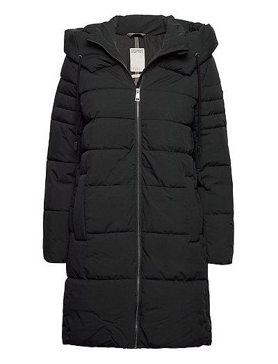 Coats Woven Gefütterter Mantel Schwarz ESPRIT CASUAL | ESPRIT SALE