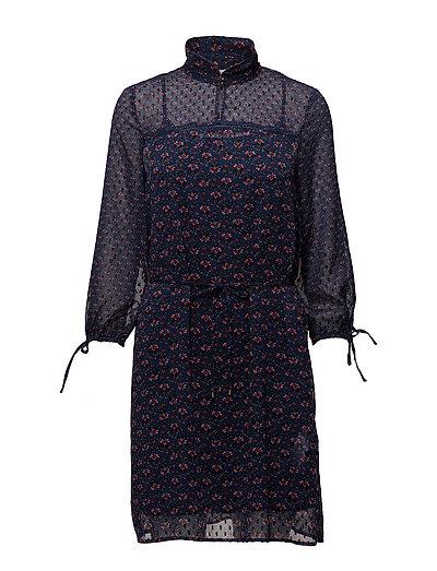 Dresses light woven - DARK BLUE