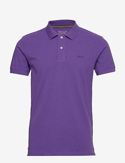 Polo shirts - kortærmede - violet